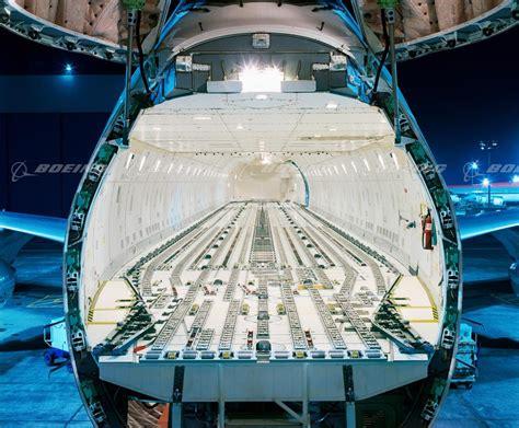boeing images 747 400f with open nose cargo door