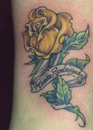 yellow rose tattoo designs yellow tattoos designs ideas and meaning tattoos