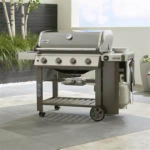 Backyard Grill Customer Service Smoke Weber Genesis Gas Grill Crate And Barrel