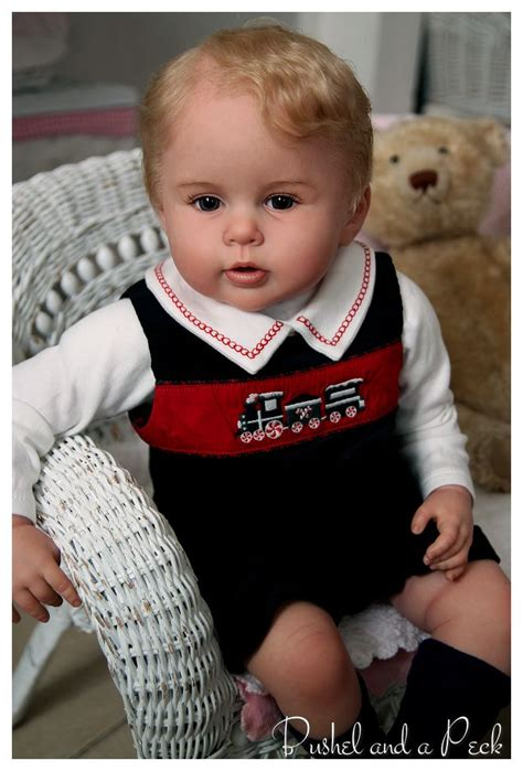 prince george reborn doll on ebay realistic and