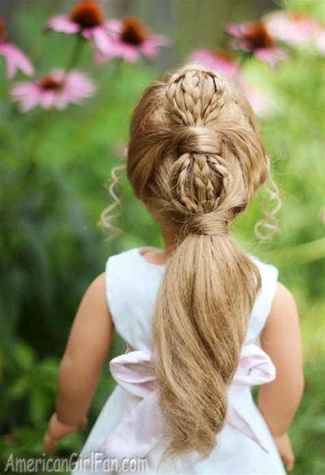 Hair Style Doll by American Doll Hairstyle Ponytail Doll Hairdo