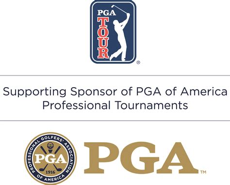 michigan section pga pga tour logo image