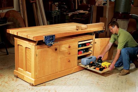 woodworking project dream workbench