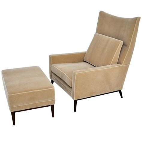 club chair with ottoman paul mccobb lounge chair ottoman furniture ottomans