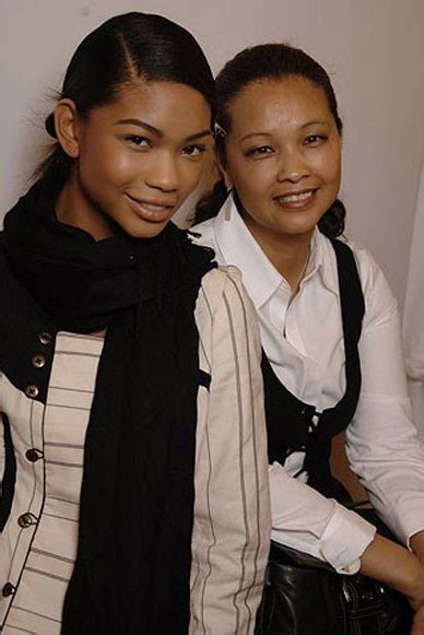 chanel iman mother and father chanel iman teen vogue