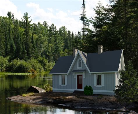 cottage plans designs 476 sq ft ontario tiny house plan