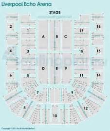 echo arena floor plan liverpool echo arena seating plan