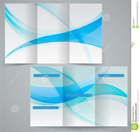 publisher tri fold brochure templates best agenda templates