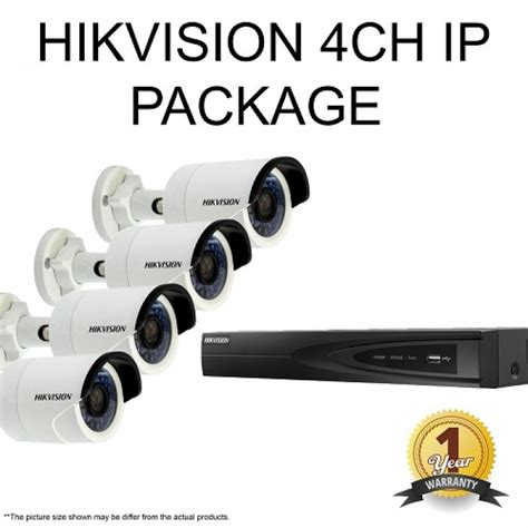 Flashsale Paket Cctv 4ch Hikvision 2 0 Mp 1080p Hd Komplit hikvision cctv 2mp package only rm1945 security