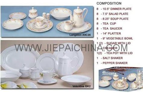 Dinner Set Keramik Fiorenza 30pcs porcelain dinner set vajilla de porcelana china