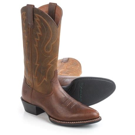 most comfortable mens cowboy boots comfortable review of ariat sport r toe cowboy boots