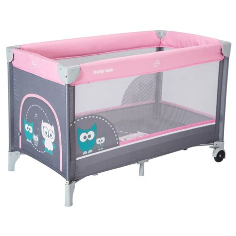 Portable Travel Crib by Single Layer Portable Travel Cot Baby Mix