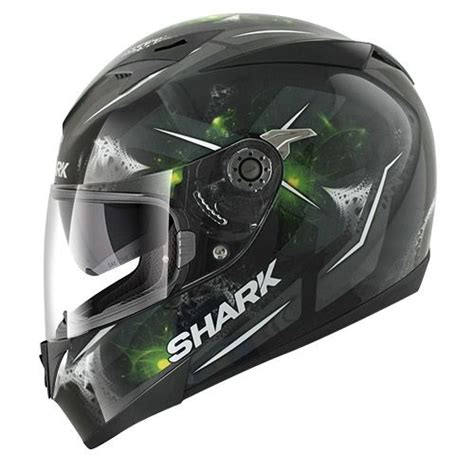 Pinlock Helm Shark S700 Anti Embun casque int 233 gral shark s700 pinlock signal noir vert casques moto sur la b 233 canerie