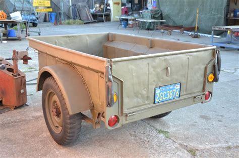 bantam jeep for sale classic military automotive 187 bantam civilian jeep trailer