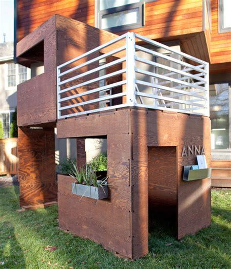playhouse for backyard best 25 modern playhouse ideas on pinterest modern kids
