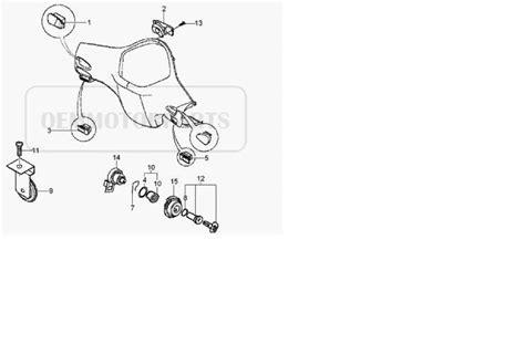 Key Switch Vespa Modern modern vespa ignition small holding clip for ignition