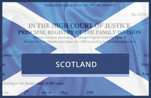 Scottish Divorce Records Copy Of Decree Absolute Certificate Replacement Divorce Certificate