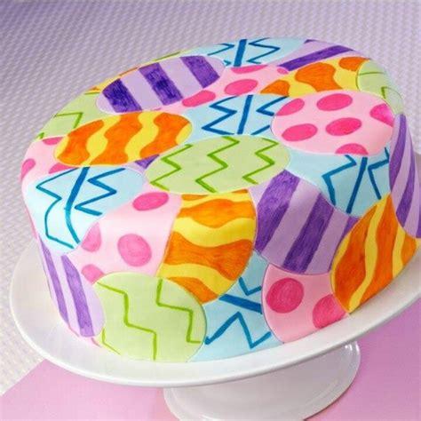 wilton easter egg cake wilton cakes frostings pinterest