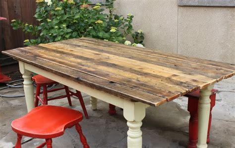 farm table to plank table diy