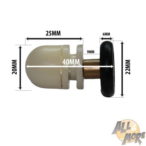 ricambi per cabine doccia kit8 cuscinetti ricambio box doccia ruote 22mm rotelline