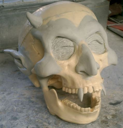 Things To Make With Paper Mache For - 402 best skulls skeletons images on