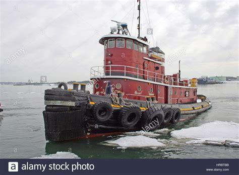 portland harbor tug boat portland maine new usa stock photo 134870271 alamy