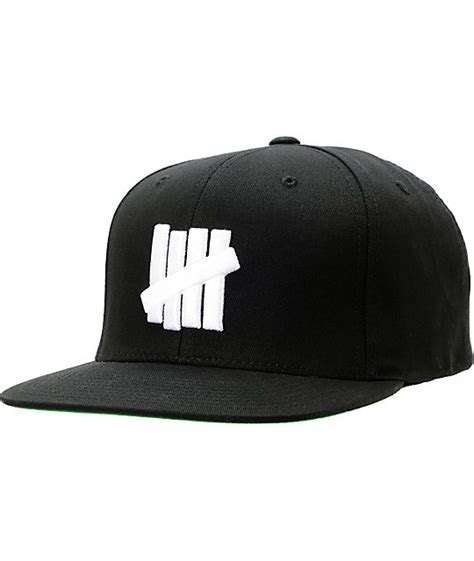 Topi Undefeated Cap Hat Snapback undefeated five strike black snapback hat zumiez