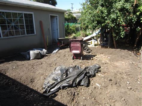 backyard improvements backyard improvements sod shirley chris projects blog