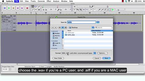 tutorial youtube audacity audacity tutorial 3 exporting audio file youtube