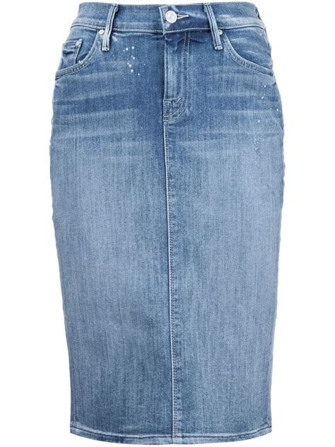Denim Pencil Mini Skirt denim pencil skirts where to buy them and how to wear
