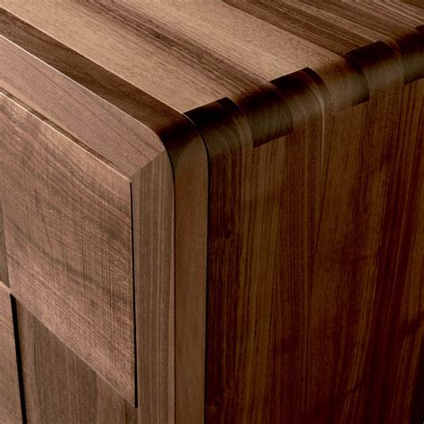 credenza in noce massello credenza con 3 ante in legno massello design moderno nensi