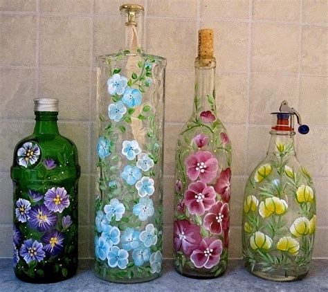 Beads Decoration Home by Repurposed Glass Bottles Into Creative Decorations
