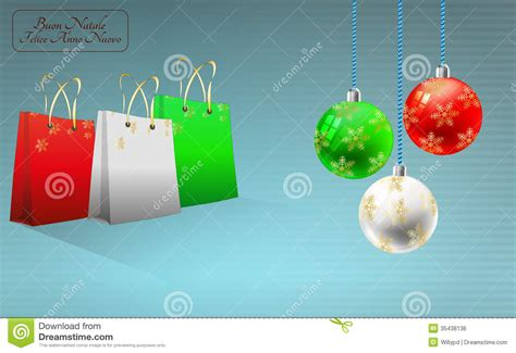 merry in italian bag and italy royalty free stock image image