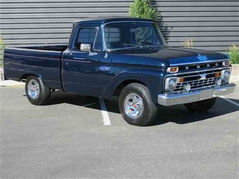 1966 Ford F100 For Sale by 1966 Ford F100 For Sale On Classiccars 17 Available