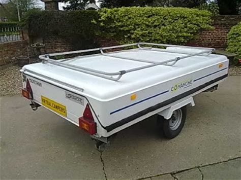 hardtop awnings for trailers comanche montana hard top folding cer trailer tent