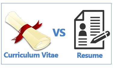 Resume Vs Cv New Zealand by How To Write A Cv Or Curriculum Vitae Exle Included