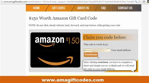 Amazon Gift Card Code Free No Survey 2016 - every amazon gift card code generator online no survey diothernti