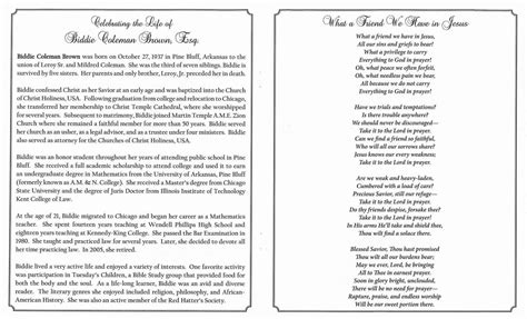 biddie coleman brown esq obituary aa rayner and sons