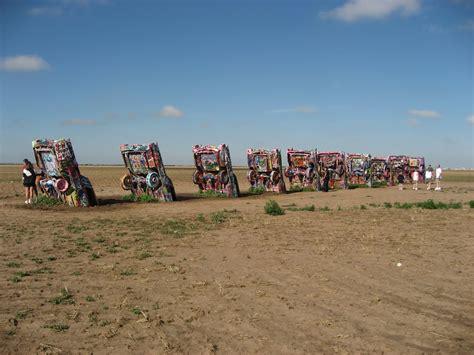cadillac ranch in amarillo panoramio photo of cadillac ranch amarillo