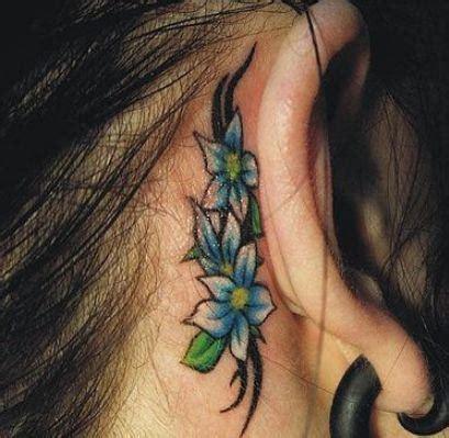 daisy tattoo behind ear 50 latest daisy tattoos ideas