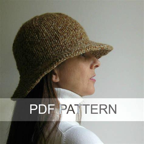 cloche hat pattern knitting branda cloche hat pdf knitting pattern hat instant