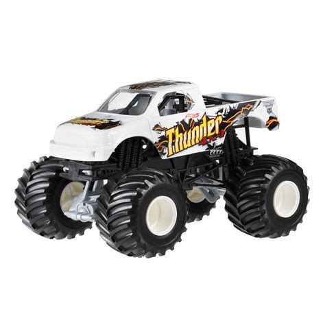 monster jam remote control trucks wheels monster jam thunder 4x4 toys games