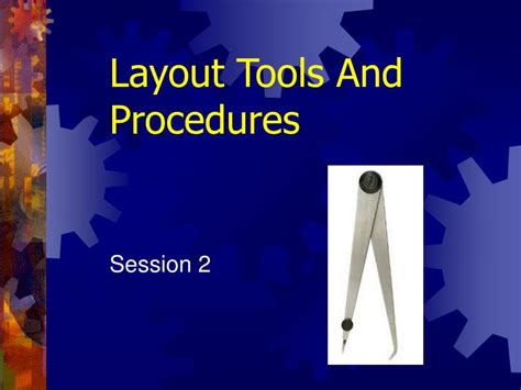 section 1 4 tools and procedures ppt layout tools and procedures powerpoint presentation