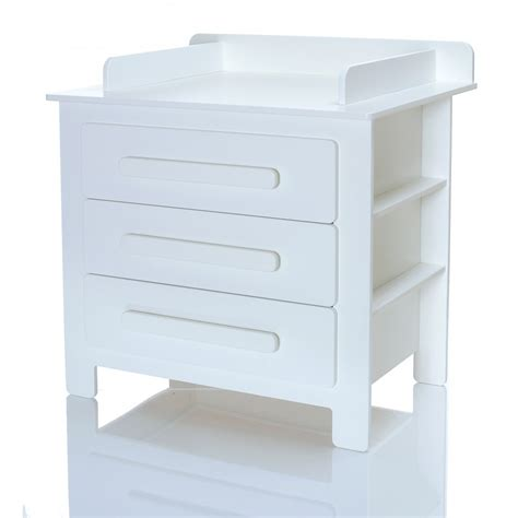 Baby Change Table Chest Of Drawers Baby Chest Of Drawers White Softclose Changing Table Unit Children Room Lcp Ebay