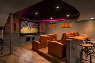 Home Theater Design Ideas Diy by Basement Home Theater Design Ideas For Your Modern Home