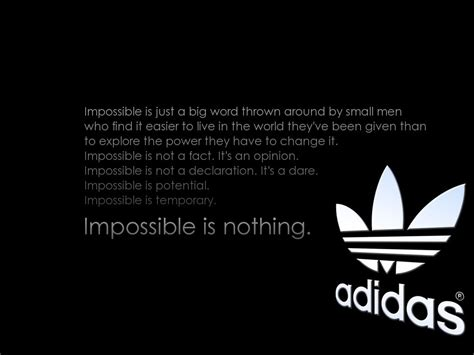 adidas wallpaper impossible is nothing impossible is nothing best motivational speeches ever
