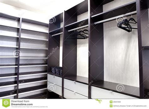 walk in large walk in closet stock photos image 26641063