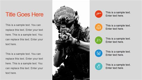powerpoint templates free military military powerpoint template slidemodel