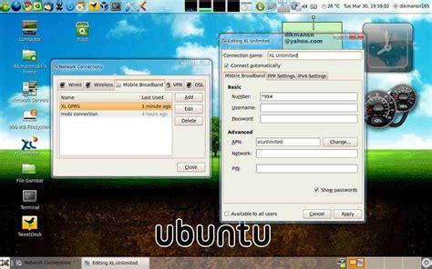 Modem Xl Unlimited unlimited xl dengan modem huawei e156g di gnu linux ubuntu 9 10 171 bacalah