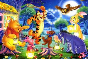 model kit amp jigsaw puzzle quot pooh and firefly play quot jigsaw